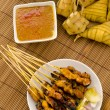 Stock Photo: Satay malay hari rayfoods