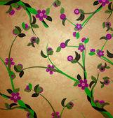 Grunge tree illustration — Stock Photo