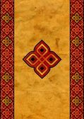 Celtic gamla papper — Stockfoto