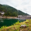 Stock Photo: Dam in the mountains