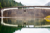 Dam in the mountains — Stock Photo