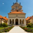 Coronation Cathedral in Alba Iulia, Romania — Stock Photo