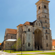 Roman Catholic cathedral in Alba Iulia - Stock Photo