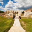 Apulum Roman castra in Romania - Stock Photo