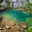 Karstic spring — Stock Photo