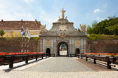Alba Iulia stronghold in Romania — Stock Photo
