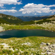 Stock Photo: Glacial Lake Vidal in Parang mountains, Romania