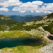 Glacial Lake Vidal in Parang mountains, Romania — Stock fotografie