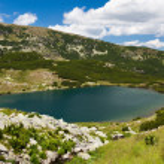 Lake Calcescu in Romania — Stock Photo
