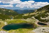 Glacial Lake Vidal in Parang mountains, Romania — Stock Photo
