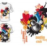 Vector. T-shirt design — Stock Vector #11163961