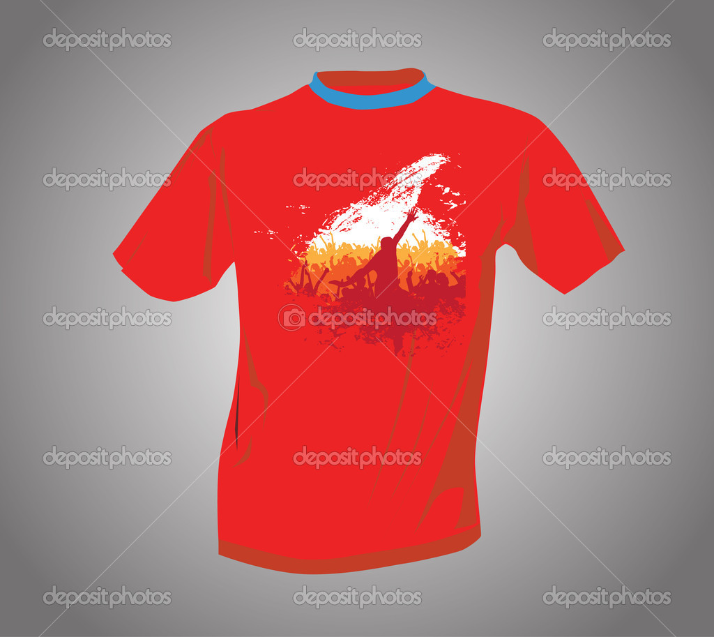 Vector. T-shirt design — Stock Vector #11163585