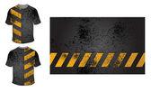 Vector. design de t-shirt — Vetor de Stock