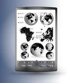 智能手机可编辑矢量 — 图库矢量图片