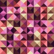 Abstract geometric vintage background — Stock Photo