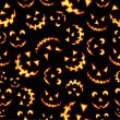 Halloween terror background pattern - ベクター素材ストック
