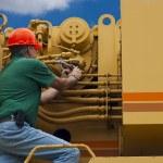 Maintenance mechanic — Stock Photo