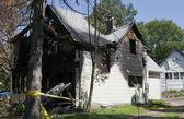 Fire damage — Stock Photo