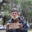 Homeless man — Stock Photo #10841022