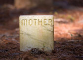 Mother Gravesite — Stock Photo