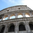 Stock Photo: Colosseum in Rome with blue sky