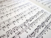 File for musical backgrounds — Stock Photo