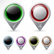 Royalty-Free Stock Vector Image: Various pointer icons