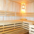 Interiors saunas — Foto Stock