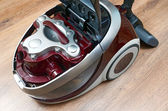 Vacuum cleaner with water filter — Stock Photo