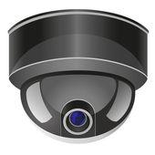Video surveillance camera vector illustration — Stock Vector