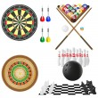 Icon of games for leisure illustration — Stock Photo