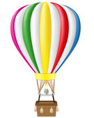 Hot air balloon illustration — Foto Stock