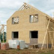 Brick house under construction — Stock Photo #10941164