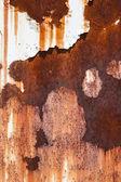 Rusty steel plate — Stock Photo