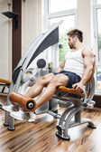 Leg press — Stock Photo