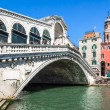 rialto bridge venice italy — Stock Photo