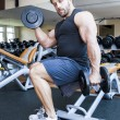 Bodybuilding man — Stock Photo