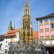 Stock Photo: Nuremberg fountain