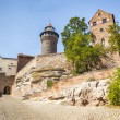 Stock Photo: Castle of Nuremberg BavariGermany