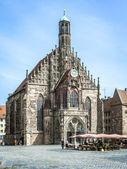 Nuremberg alemanha baviera da igreja — Fotografia Stock