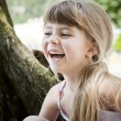 Royalty-Free Stock Photo: Laughing Girl