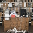 Stock Photo: Messy Office