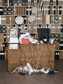 Messy Office — Foto Stock