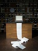 Fax Machine — Stock Photo