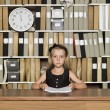 Serious Young Business girl - Foto de Stock