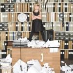 Serious business girl — Stock Photo