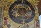 Freska kolo života od zachary Zografa — Stock fotografie