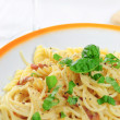Spaghetti carbonara — Stock Photo #11063037