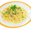 Spaghetti carbonara — Stock Photo #11063039
