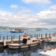 Boats on Bosphorus — Stockfoto